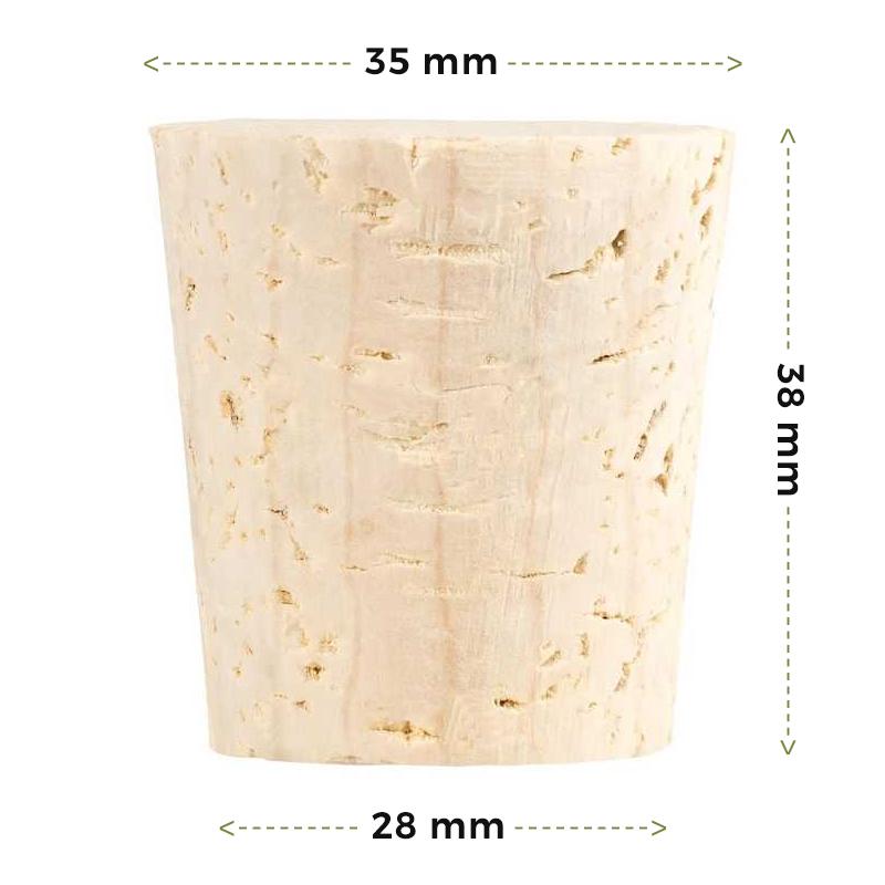 Spitzkorken für Erlenmeyerkolben (Enghals) kaufen